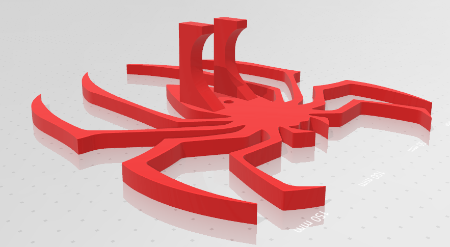 spiderman 2.png Download free STL file Spiderman Wall control holder • Template to 3D print, jesushbpc
