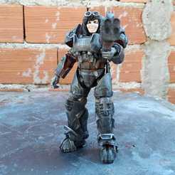 Descargar modelo 3D Escopeta de cañón cuádruple de Fallout Miami (Liberador) para Fallout Joe, Marcus_GT500