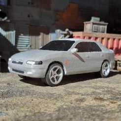 IMG-20200725-WA0005.jpg Télécharger fichier STL Mazda 626 berline 1/48 • Plan pour impression 3D, Marcus_GT500