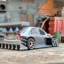 Descargar modelo 3D Renault Dacia Logan + Versión Racing, Marcus_GT500