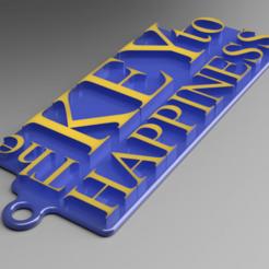 Descargar archivo 3D gratis La clave para el llavero de la felicidad, Marcus_GT500