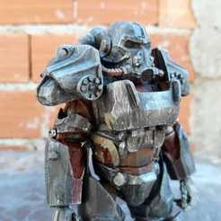Download STL file West Tek T-60 Power Armor ( Fallout 4 ) • 3D printer object, Marcus_GT500
