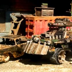 Imprimir en 3D 1:64 Chryslus Highwayman Fallout 2 Mad Max Version, Marcus_GT500