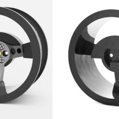 Descargar diseños 3D gratis Volante para el radio/transmisor Flysky FS-GT3C, Marcus_GT500