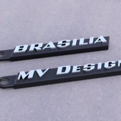 Download free 3D printer designs MV Design / VW Brasilia Keychains, Marcus_GT500
