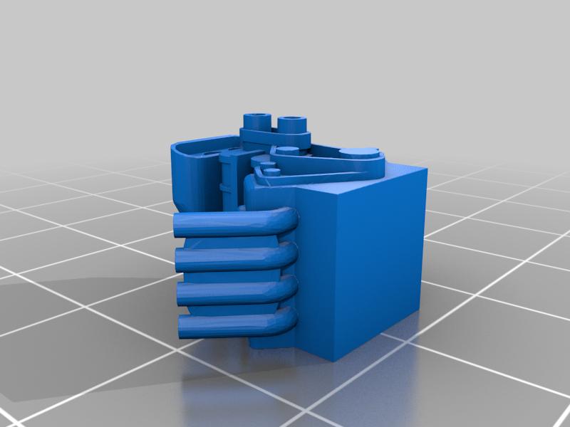 Twin_Supercharged_V8_Gaslands_with_Exhaust.png Télécharger fichier STL gratuit Double V8 suralimenté 1:64 (Gaslands) • Objet pour impression 3D, Marcus_GT500