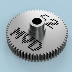 62t_spur.png Télécharger fichier STL gratuit Traxxas 4TEC 4-TEC 2.0 62T Engrenages cylindriques • Objet à imprimer en 3D, Marcus_GT500
