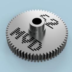 Descargar archivo 3D gratis Traxxas 4TEC 4-TEC 2.0 62T Spur Gear, Marcus_GT500