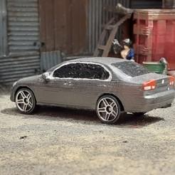 Descargar diseños 3D Coche de juguete Honda Civic sedán 2005, Marcus_GT500