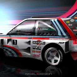 nigel-muller-justy-low.jpg Download free STL file SUBARU JUSTY J12 AWESOME RALLY GROUP B CAR • 3D printing template, Marcus_GT500