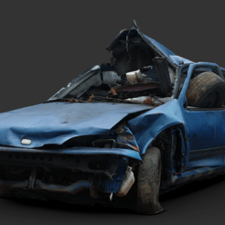 geo.png Download free OBJ file Geo Metro Wreck Gaslands • Object to 3D print, Marcus_GT500