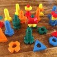 Download free STL file Screws and nuts Toys, Frederic_JELMONI