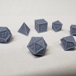 Download 3D printer model Tubular Dice Set, dnlk_designs