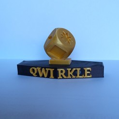 90707511_2424858694281076_700050158527709184_n.jpg Download STL file Qwirkle Trophy / Qwirkle trophy • Design to 3D print, ssxers