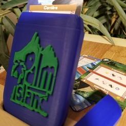 PI 2.jpg Télécharger fichier STL boite transport palm island / palm island carrying case • Design pour impression 3D, ssxers