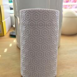 Download free 3D printer files Cylinder textured box, josjensen77