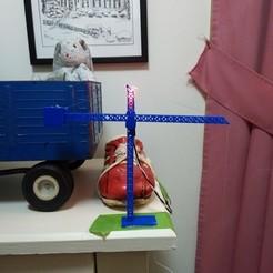 IMG_20191222_181426823.jpg Download free OBJ file Tower Crane Keychain holder • Model to 3D print, andyblinkblink