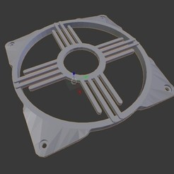 5dfde53c86d25dc67d940a880f9a86ef_preview_featured.jpg Download free STL file 120mm Zia fan grill  • 3D printing template, TECHGUY
