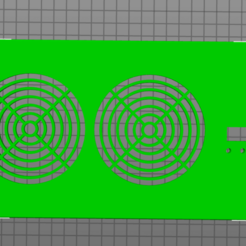 front_vent.png Download STL file 4x10 vent booster • Model to 3D print, TECHGUY