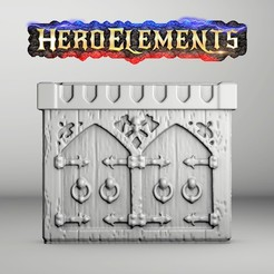 ArmarioLQ1.jpg Download free STL file CABINET / DUNGEON DRESSING FOR HEROQUEST AND OTHER GAMES.(LQ) • 3D printer model, Tornmoon3D