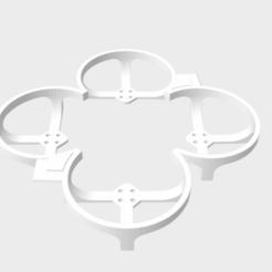 Capture d'écran 2020-02-28 à 22.41.35.png Download STL file Betafpv HX100 propeler guard • 3D printing object, svenecs