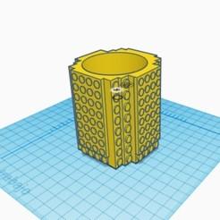 Imprimir en 3D Penholder Lego, Nicolas_Sanchez