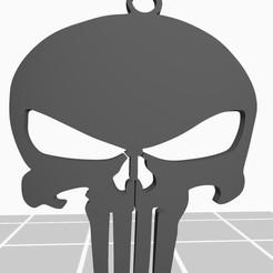 Descargar archivos STL Logo de punisher, luisjoel5612