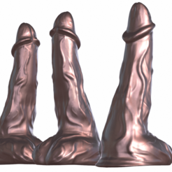 Download 3D printing models Very High Poly Dildo, Adult