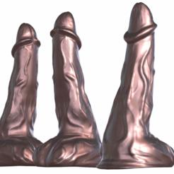 Télécharger objet 3D Gode très haut Poly Dildo, Adult