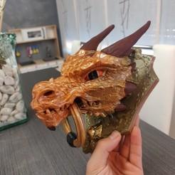 Download free 3D printing models Dragon Knocker, david-pozuelo