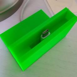 Télécharger fichier impression 3D Redmi Note 7 dock, credenze