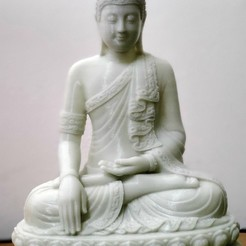 Download free OBJ file Thai Buddha Edited - Error Free - Statue Sculpture • 3D printer object, remsam26