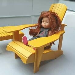 20210109_140712.jpg Télécharger fichier GCODE gratuit Chaise de Poupée Adirondack • Plan à imprimer en 3D, alaingermain3