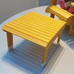 20210109_090508.jpg Télécharger fichier GCODE gratuit Table Adirondack pour poupée • Modèle à imprimer en 3D, alaingermain3