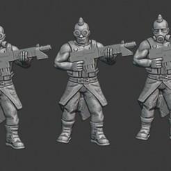 Chaotic Renegades.jpg Télécharger fichier STL gratuit La horde chaotique de renégats avec des fusils • Objet pour impression 3D, Gr4zhopeR