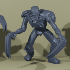 Imprimir en 3D gratis Desolladores de robots zombies, Gr4zhopeR