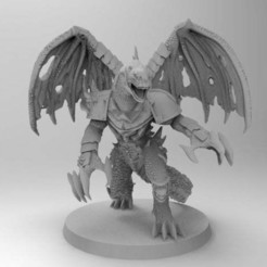 Descargar Modelos 3D para imprimir gratis Kaiju Alpharius con garras de arrastre, Gr4zhopeR