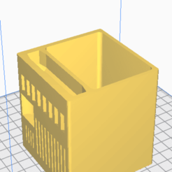 Download free 3D printer designs Pencil Cup, Ryancperk