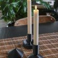 SO_CandleBestPics.JPG Download free STL file Modular Candle Holder Set • Design to 3D print, sharedobjects