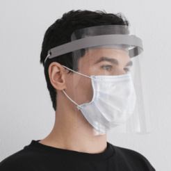Download free 3D printer model Face Shield Visor - Minimal Assembly - COVID-19, sharedobjects
