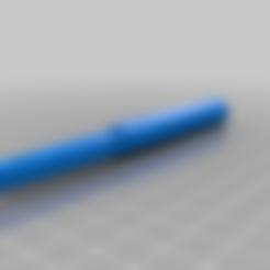 handle_attachment.stl Download free STL file Italian Siciliano Training Knife • 3D printer design, fraserblazer