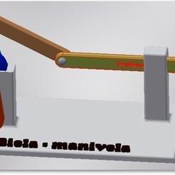 Modelo_Maqueta.jpg Download STL file Crank mechanism model/Slider-crank mechanism model • Design to 3D print, jimenezdavid433