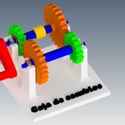 Montaje completo.jpg Télécharger fichier STL Modèle de boîte de vitesses • Objet à imprimer en 3D, jimenezdavid433