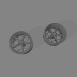 Rotilgb19.png Télécharger fichier STL Roti LGB Wheels 1/24 19 pouces • Plan imprimable en 3D, Mperez1970