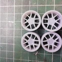 IMG_20201119_223109.jpg Télécharger fichier STL Ford Shelby roues 1/24 • Design imprimable en 3D, Mperez1970