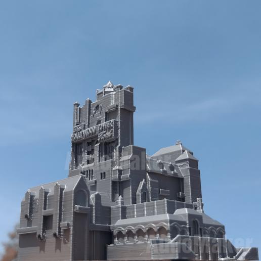 Download 3D Printer Files Tower Of Terror Disney Hollywood