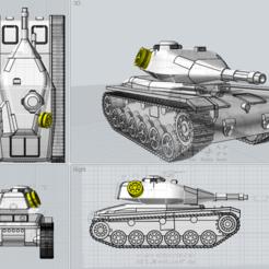 Capture.PNG Télécharger fichier STL gratuit Modèle du char Conquistador STRV74 • Plan pour imprimante 3D, PopsicleBallista
