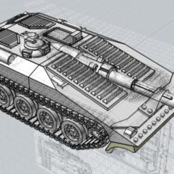 STRV_Destroyer.PNG Download free STL file Grimdark Destroyer STRV pattern • 3D print object, PopsicleBallista
