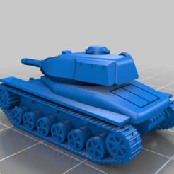 Descargar Modelos 3D para imprimir gratis Patrón del Tanque Rápido Interestelar STRV74, PopsicleBallista