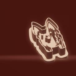 c1.png Download STL file cookie cutter stamp dog • 3D printer object, nina_hynes